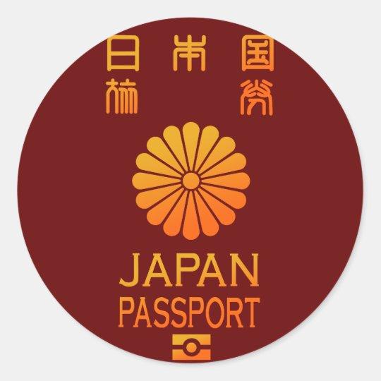 PASSPORT(JAPAN) ラウンドシール