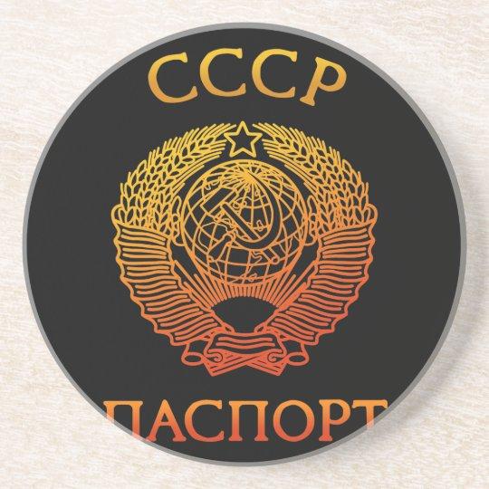 Passport soviet コースター