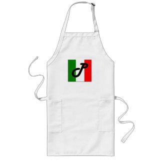 Pastacelliの紋章の長いエプロン ロングエプロン