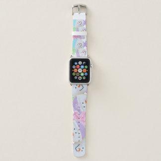 Pastel Christmas Cookies Apple Watch Straps Apple Watchバンド