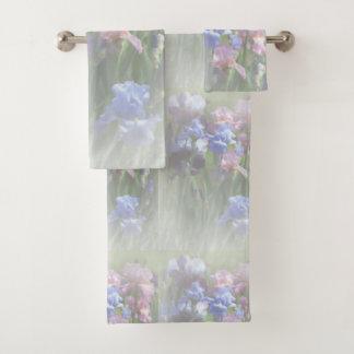 Pastel Irises バスタオルセット