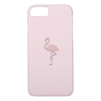 Pastel Pink Flamingo Case iPhone 8/7ケース