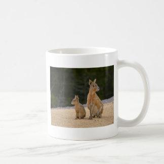 Patagonianマラおよび若者 コーヒーマグカップ