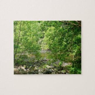 Patapscoの川の眺めのメリーランドの自然の写真撮影 ジグソーパズル