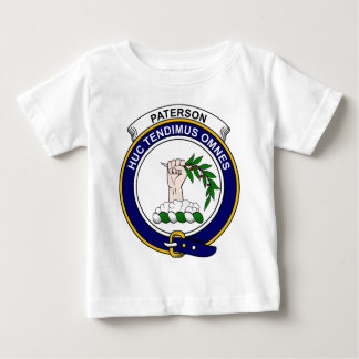Patersonの一族は記章を付けます ベビーTシャツ
