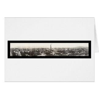 Patersonニュージャージーの写真1913年 カード