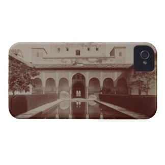 Patio de los Arrayanes、アルハンブラ、c.1875-80 (セピア色 Case-Mate iPhone 4 ケース
