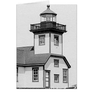 Patosの島の灯台 カード