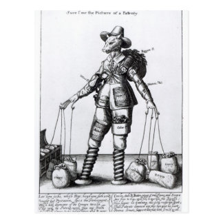 Pattenty', c.1641-50の写真 ポストカード