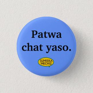 Patwaの雑談のyaso 3.2cm 丸型バッジ