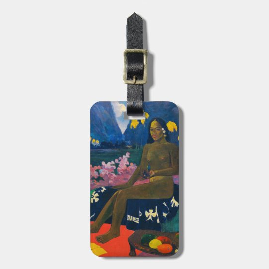 Paul Gauguin , The Seed of the Areoi ラゲッジタグ