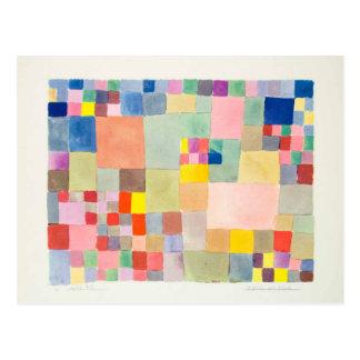 Paul Klee , Flora on sand 葉書き