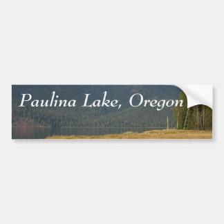 paulina湖、オレゴン バンパーステッカー