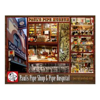 Paul's Pipe Museum Postcard ポストカード
