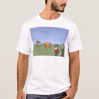 """""""Pavlov犬、Schrödingerの猫""""の、2002年 Tシャツ"""