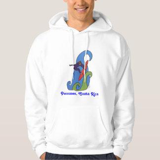Pavonesのコスタリカのスエットシャツのフード付きスウェットシャツ パーカ