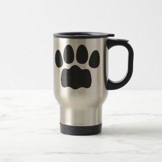 Paw ステンレス製トラベルマグカップ