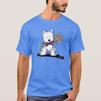 Pawfect Westie KiniArtの氏 Tシャツ