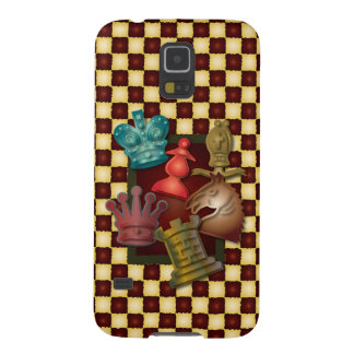 Pawnチェスのデザイン王クイーン・ナイトの司教 Galaxy S5 ケース