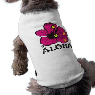 PawsIDかわいいアロハ犬のワイシャツ ペット服