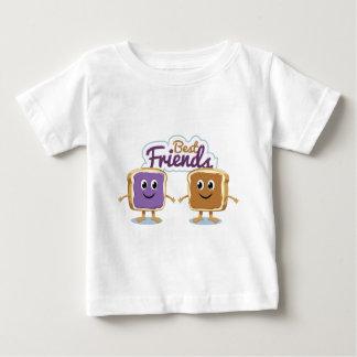 PB及びJ Bestfriends ベビーTシャツ