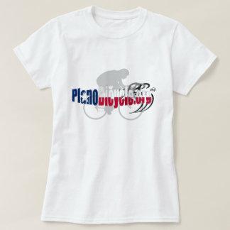PBA Planoのサイクリングのロゴのテキサス州の影のギフト Tシャツ