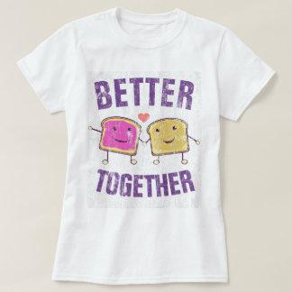 PBJを一緒によくして下さい Tシャツ
