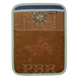 """PBR""のロデオの西部のIPadの袖 iPad 用スリーブ"