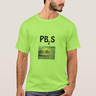 PBSは汚れているなるために割り当てます Tシャツ