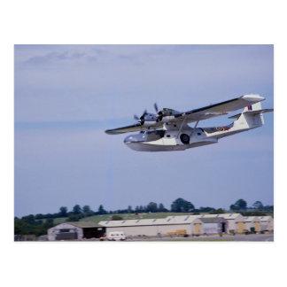 PBY、5A Catalinaの第二次世界大戦の下検分のflyi ポストカード