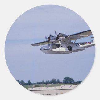 PBY、5A Catalinaの第二次世界大戦の下検分のflyi ラウンドシール