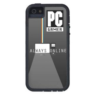 PCのゲーマーの例 iPhone SE/5/5s ケース