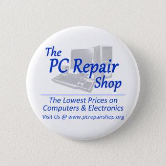 PCの修理工場 5.7CM 丸型バッジ