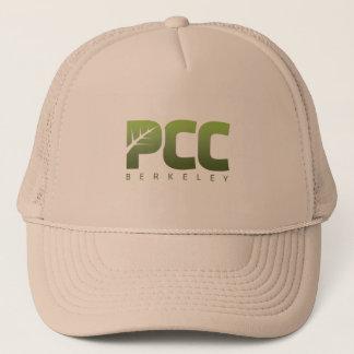 PCCバークレーのカーキ色の帽子 キャップ