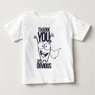 pctの明らかでクールなデザインありがとう ベビーTシャツ