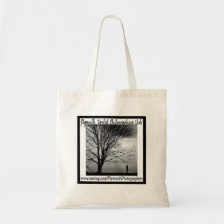 PDPの正方形のロゴのバッグ トートバッグ