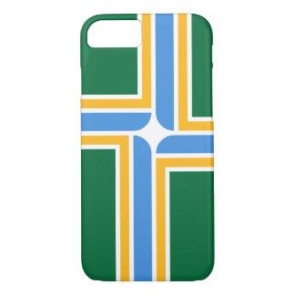 PDXポートランド都市旗のiPhone 7の場合 iPhone 8/7ケース