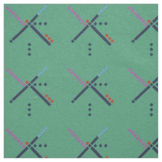 PDX空港カーペット ファブリック