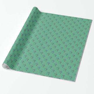 PDX空港カーペット 包装紙