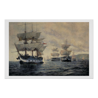 Peの解放の探険の乗船 ポスター