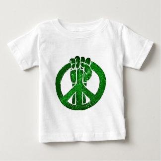 Peace_のための立場 ベビーTシャツ
