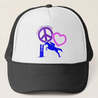 PEACE-LOVE-JUMPING キャップ