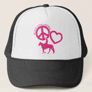 PEACE-LOVE-RIDING キャップ