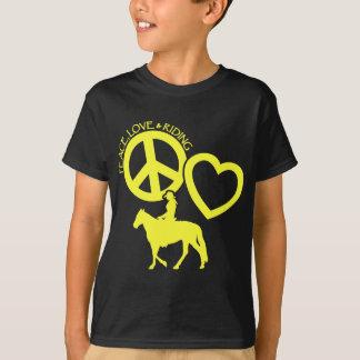 PEACE-LOVE-RIDING Tシャツ