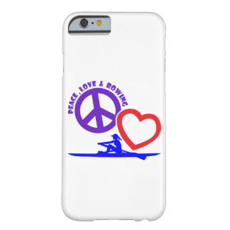 PEACE-LOVE-ROWING BARELY THERE iPhone 6 ケース