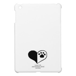 Peacefullのハートのipadの小型場合 iPad Miniケース