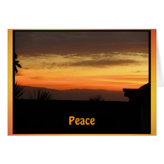 Peacefullの日の出 カード