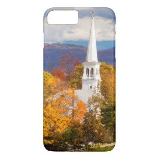 Peacham、ヴァーモント、米国の秋場面 iPhone 8 Plus/7 Plusケース