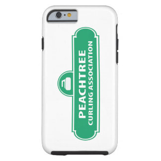 PeachtreeのカールのロゴのiPhone6ケース ケース
