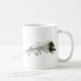 PeacockFeathers030310 コーヒーマグカップ